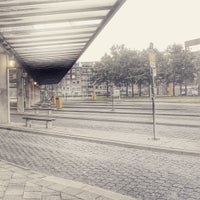 Photo taken at Busstation Van Knobelsdorffplein by Ferdinand A. on 8/15/2015