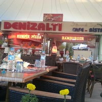 Photo taken at DenizAltı Cafe&Bistro by Ecem G. on 7/22/2013