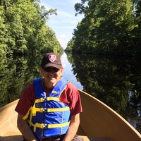 Photo taken at Dismal Swamp Canal by Ken D. on 6/15/2014
