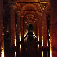 Photo taken at Basilica Cistern by Peter B. on 3/20/2013