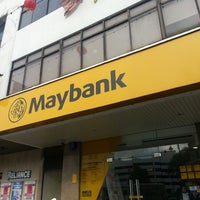 Photo taken at Maybank by Kunaalan U. on 2/17/2014
