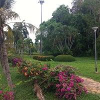 Photo taken at Somdet Phra Si Nakarin 95 Park by สุดารัตน์ บ. on 4/14/2014