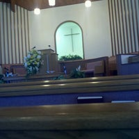 Photo taken at Tunnel Hill Baptist Church by brad f. on 8/18/2013