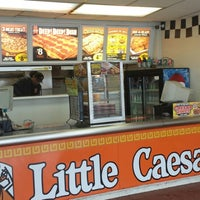 Photo taken at Little Caesars Pizza by brad f. on 1/21/2014