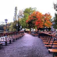 Photo taken at Seehaus im Englischen Garten by Konstantin B. on 10/13/2012