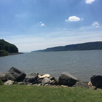Photo taken at Dobbs Ferry Waterfront Park by Danielle L. on 7/4/2016