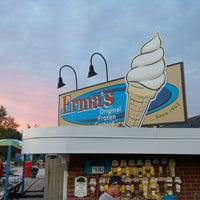Photo taken at Erma's Frozen Custard by paul t. on 9/29/2014