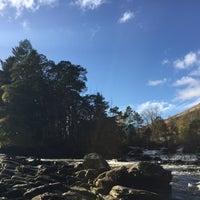 Photo taken at Falls Of Dochart by Rebecca B. on 10/29/2017