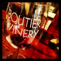 Photo taken at Boutier Winery by Ansley B. on 12/8/2012