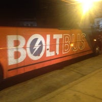 Photo taken at Bolt Bus Baltimore Stop by Nyoka G. on 9/2/2013