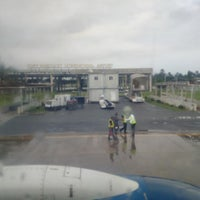 Photo taken at Port-Harcourt International Airport (PHC) by Viv O. on 5/10/2015