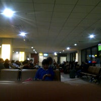 Photo taken at Gate 8 by Aldiaz M. on 1/6/2013