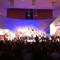 Photo taken at First Baptist Church by Julie G. on 1/20/2013