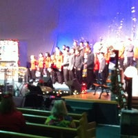 Photo taken at First Baptist Church by Julie G. on 12/7/2012