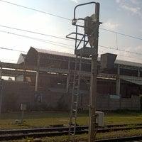 Photo taken at Stazione FS di San Zeno by Christopher M. on 6/2/2014