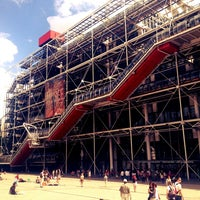 Photo taken at Pompidou Centre – National Museum of Modern Art by HeMoShA C. on 7/29/2013