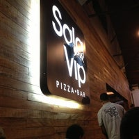 Photo taken at Sala Vip Pizza Bar by Rennan G. on 1/6/2013