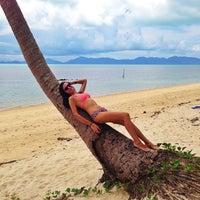 Photo taken at Baan Tai Beach by Olga K. on 5/12/2013