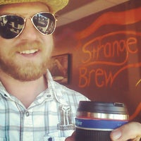 Photo taken at The Strange Brew by Rob S. on 9/22/2014