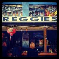 Photo taken at Reggie's Trainwreck Rooftop Deck by Rob S. on 9/22/2012