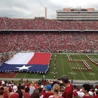 Photo taken at Cotton Bowl by Jessica S. on 10/12/2013