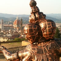 Photo taken at Forte di Belvedere by Caterina B. on 7/21/2013