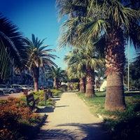 Photo taken at dikili yuruyus yolu by Selda on 8/27/2015