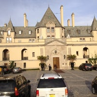 Photo taken at Oheka Castle Hotel & Estate by steve h. on 11/16/2012