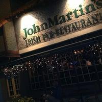 Photo taken at John Martin's Irish Pub & Restaurant by 'Mark's List Mark .. on 1/10/2013
