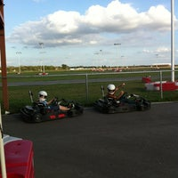 Photo taken at Dallas Karting Complex by Shannon M. on 10/23/2012