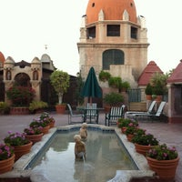 Photo taken at The Roof Of The Mission Inn by Purple P. on 10/5/2012