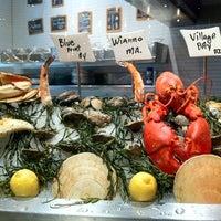 10/10/2012 tarihinde Purple P.ziyaretçi tarafından Rick Moonen RM Seafood'de çekilen fotoğraf