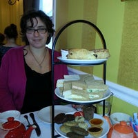 Photo taken at Ana Beall's Tea Room by Tiff K. on 12/15/2013