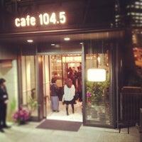 Photo taken at cafe 104.5 by つか な. on 4/11/2013