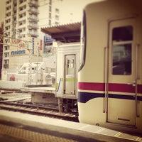 Photo taken at Sasazuka Station (KO04) by つか な. on 6/15/2013