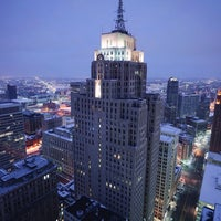Photo taken at Downtown Detroit by MiRk™ on 3/7/2016