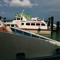 Photo taken at Sri Bintan Pura Ferry Terminal by Asmalinda P. on 10/29/2012