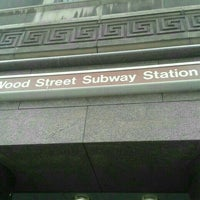 Photo taken at Port Authority Wood Street Station by Shadow C. on 6/18/2016