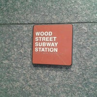 Photo taken at Port Authority Wood Street Station by Shadow C. on 5/6/2016