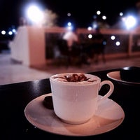 Photo taken at Emporio Armani Café- The Pearl Qatar by Essa on 10/12/2013