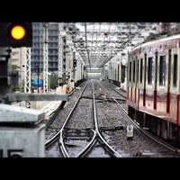 Photo taken at Keikyū Kawasaki Station (KK20) by motohide on 10/7/2012