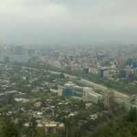 Photo taken at Parque Metropolitano de Santiago by Cristina C. on 10/7/2012