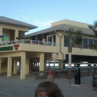 Photo taken at Dania Beach Pier by Marty B. on 11/23/2012
