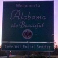 Photo taken at Alabama / Florida State Line by CAR on 10/22/2012