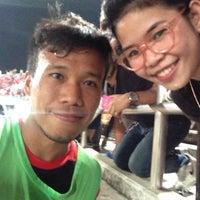 Photo taken at สนามกีฬาเฉลิมพระเกียรติ 80 พรรษา นครราชสีมา by Fernzi 3. on 3/5/2016