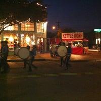 Photo taken at Bishop Arts District by Nancy L. on 12/1/2012