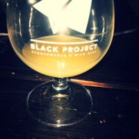 Photo taken at Black Project Spontaneous & Wild Ales by Leslie G. on 10/6/2017