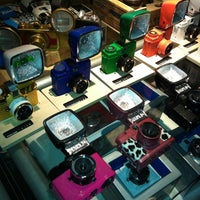 Photo taken at Lomography Gallery Store by Katya S. on 10/13/2012