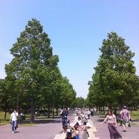 Photo taken at Toneri Park by Ys J. on 5/6/2013