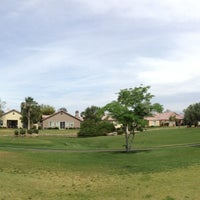 Photo taken at Indian Palms Country Club & Resorts by Cristian W. on 4/18/2014